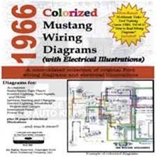 cd 66 mustang colorized wiring diagram 66 ford mustang wiring diagram 66 Ford Mustang Wiring 66 Ford Mustang Wiring #84