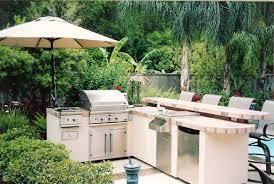 Garden Kitchens Outdoor Bbq Kitchens Entrancing Outdoor Kitchen Bar Lighting