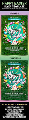 happy easter flyer template by crabsta graphicriver happy easter flyer template holidays events