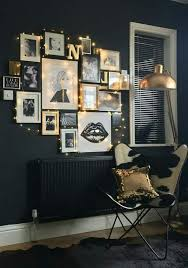 utilize string lights in your bedroom