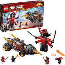 Amazon.com: LEGO NINJAGO Legacy Cole's Earth Driller 70669 Building Kit  (587 Pieces) (Discontinued by Manufacturer) : Toys & Games