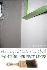 how to paint perfect lines
