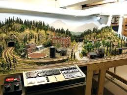 coffee table train layout ho train table adorable model train table plans of ho layouts ho train table