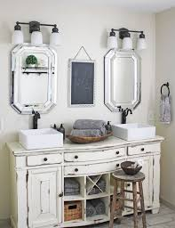 bathroom cabinet shabby chic