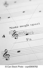 Treble Clef Music Sheet Music Sheet Background Musical Note Fa In The Treble Clef As A