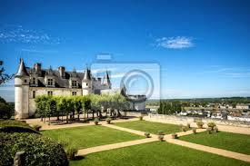 sticker château médiéval du château d amboise tombeau léonard de vinci vallée de