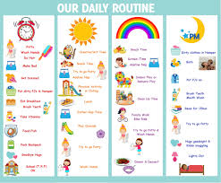 Daily Routine Chart Daily Routine Schedule For Toddler Toddler Schedule