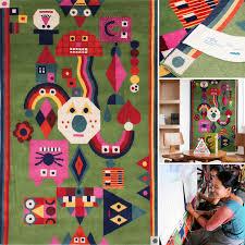 chamo node rug artist designed rugs