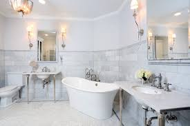 traditional marble bathrooms.  Traditional Carrera White Marble Bathroom Traditional With Intended Bathrooms O