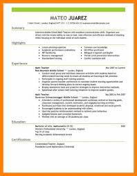 Teachers Resume Teacher Curriculum Vitae Doc Substitute Skills