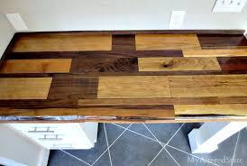 Reclaimed Wood Desk Top photo - 10