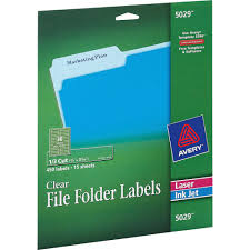 Avery File Folder Labels 5366 Template Ave5029