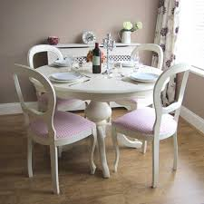 photo 1 of 5 dining table shabby chic round table and chairs shabby chic dining table with bench