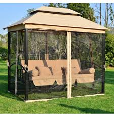 nice swing bench with canopy