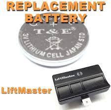 garage door opener battery sears size replace craftsman backup beeping