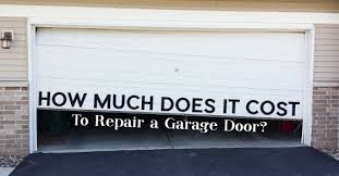 How Much to Repair Garage Door | Charlotte Garage Doors