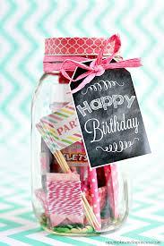 birthday in a jar printable birthday s