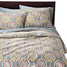 Threshold Medallion Reversible Quilt | Nanny Room | Pinterest ... & Threshold Medallion Reversible Quilt Adamdwight.com
