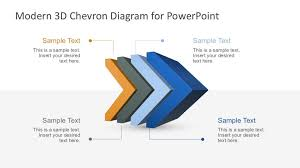 Powerpoint Chevron Template Step Chevron Diagram For Powerpoint Slidemodel Bar Template Ppt Mkles
