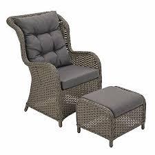 argos home dave rattan garden chair and