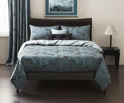 cherry blossom blue queen 6 pc bedding collection other sizes available