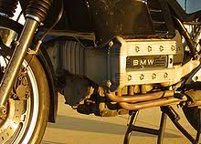 bmw k100 closeup picture of bmw k100 engine also shows some black bodywork forks and a