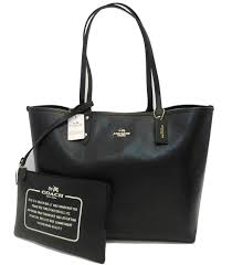 Coach Reversible City Tote in Bramble Rose Floral and Black -  F55866   Handbags  Amazon.com