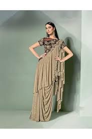 Designer Stitched Saree Mohmanthan Marvella One Minute Designer Readymade Saree 5303