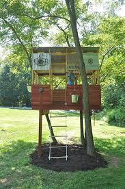 Kidsu0027 Playhouse Entrances  Really Cool Playhouse Series Diy Treehouses For Kids