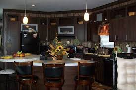 Marvelous Stylish Single Wide Manufactured Home Interior Decor Inspiration   2013  Giles   Dining And Kitchen
