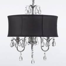 medium size of modern contemporary black drum shade crystal ceilingelier pretty glass lighting light shades text