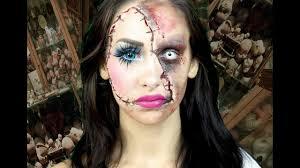 horror doll a scary makeup tutorial lacindina cindysold