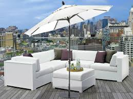 white garden furniture. parasol balcony white outdoor furniture cushion garden