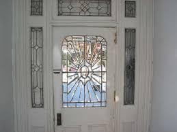 exterior door glass repair coolest stained glass door