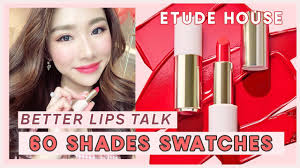 Lips Better Review First Etude Swatches House Impression Talk