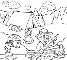 Small Picture Camping Coloring Pages Free Printable Coloring Pages art camp