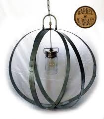 barrel band electric chandelier2