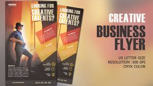 How To Design A Flyer In Photoshop Design Creative Business Flyer Cmyk Photoshop Tutorial