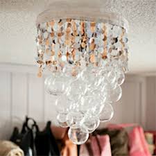 diy chandelier fth guest room homemade