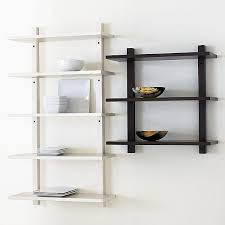 simple wall mounted bookcase attractive wood shelving units for 19