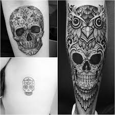 пин от пользователя Tattoo Ideasru на доске тату череп