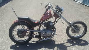 1966 honda cl77 chopper for sale via rocker co motorcycles