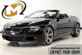 black bmw convertible. used 2009 bmw m6 convertible for sale in addison tx black bmw