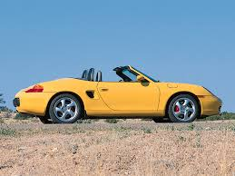 2001 Porsche Boxster S--Yellow--Side--1024x768