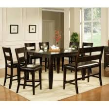 all wood dining room table. Weston Counter Height Table - Espresso All Wood Dining Room