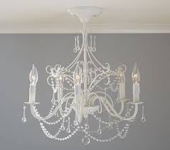 appealing flush mount chandelier on clear acrylic round flushmount pottery barn kids