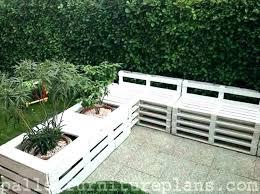 wooden pallet garden furniture. Outdoor Furniture Pallets Made From Garden Deck Wooden Pallet