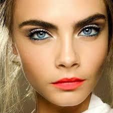 best makeup for blue eyes brown hair