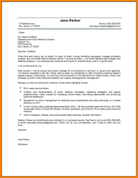 How To Write A Resume Cover Letter Examples 100 pr cover letters address example 13