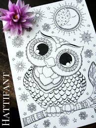 Owl Coloring Pages Pdf Raovat24hinfo